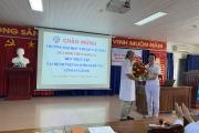 Tiếp nhận sinh viên Y khóa 41- Trường Đai học Y dược Cần Thơ đến thực tập tại bệnh viện