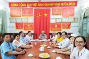 TỔ CHỨC MỪNG SINH NHẬT CHO CÁC CÁN BỘ CCVC, LĐHĐ CÓ NGÀY SINH NHẬT TUẦN 21/2019