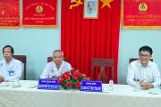 Bệnh viện ĐK Xanh Pôn – Hà Nội đến tham quan mô hình bệnh án điện tử Bệnh viện ĐKKV tỉnh An Giang