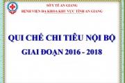 Quy Chế Chi Tiêu Nội Bộ Năm 2016 - 2018