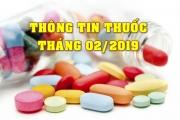 THÔNG TIN THUỐC THÁNG 02/2019
