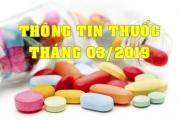 THÔNG TIN THUỐC THÁNG 03/2019
