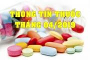 THÔNG TIN THUỐC THÁNG 04/2019