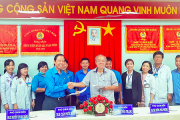 """Bệnh viện Đa khoa Khu vực tỉnh An Giang ký kết thực hiện Chương trình """"75 ngàn sáng kiến vượt khó, phát triển"""""""