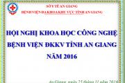 Chương Trình HNKH Công Nghệ Năm 2016